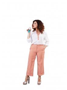 Pantalone morbido donna